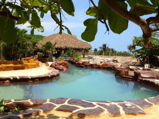 Poolside at Canoa Beach Hotel