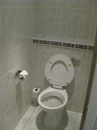 Holiday Inn Express Stirling: Toilet (empty)