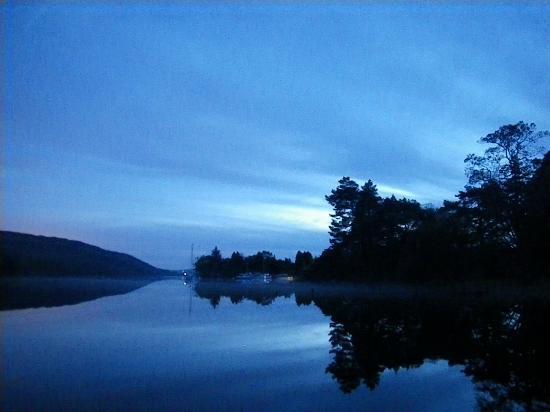 ووتر هيد هوتل: jetty late evening 