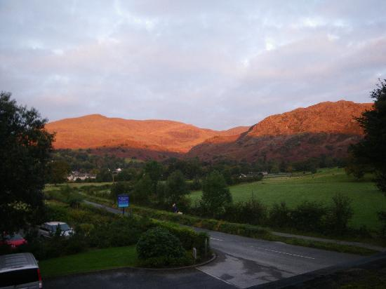Waterhead Hotel: morning view from room 7