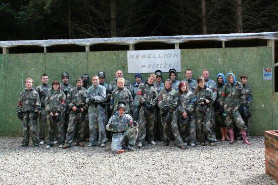 Rebellion Paintball: Group Games