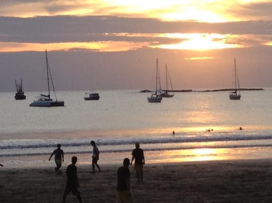 Surf Ranch Paintball : San Juan sunset