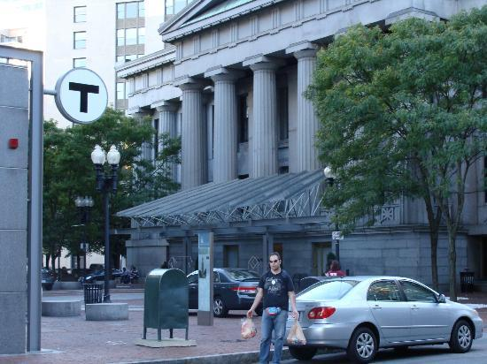 Marriott Vacation Club Pulse at Custom House, Boston: Entrada del hotel