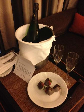 The Bostonian Boston: Anniversary surprise from the hotel!