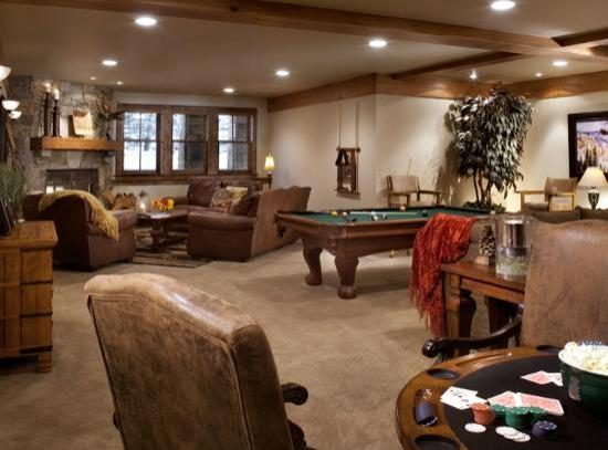 The Porches: A game room the whole family will enjoy
