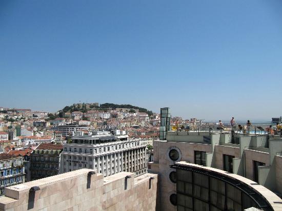 VIP Executive Eden Aparthotel: De la terrasse