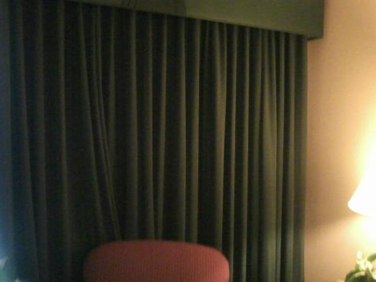 Homewood Suites by Hilton Kansas City Airport: Curtains in the suite
