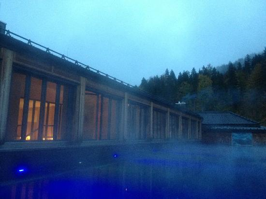 Schloss Elmau: Une piscine sur le toit