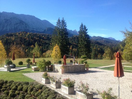 Schloss Elmau: Une vue fantastique !