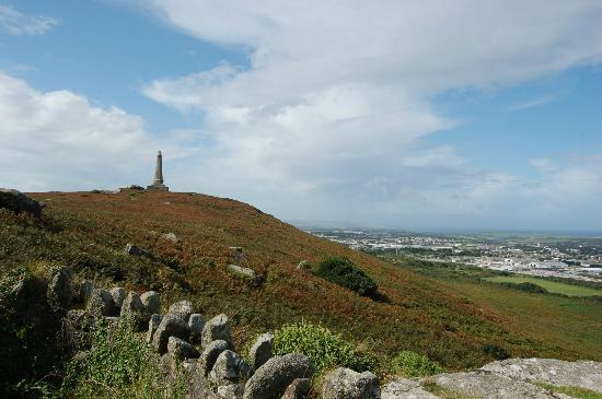 Carn Brea: The Basset Monument