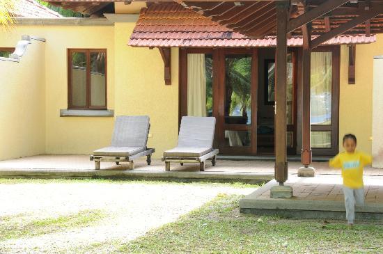 Beachcomber Seychelles Sainte Anne: Our villa
