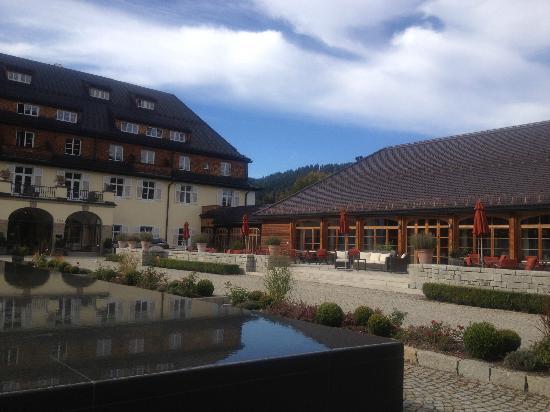 Schloss Elmau: Une belle approche !