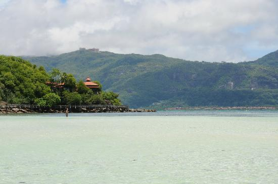 Beachcomber Sainte Anne Resort & Spa : View from the beach