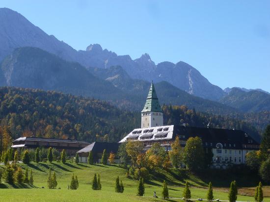 Schloss Elmau: Majesté d'un hôtel de caractère