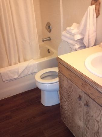 Canyon Motel & RV Park: Bathroom Railcar #2