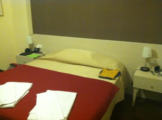 Rome Vatican Suite: they even thought to fold my pj's-