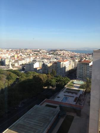 InterContinental Lisbon: view from room - shot 1