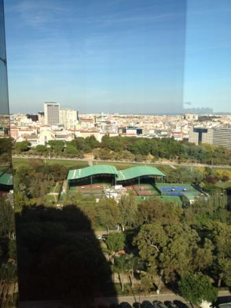 InterContinental Lisbon: view from room - shot 2