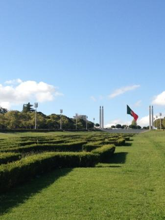 InterContinental Lisbon: parque Eduardo VII - 2 mins away