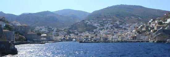 The Pirate Bar: Entering the port of Hydra