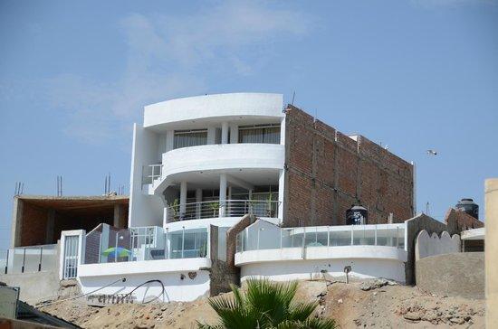 Punta Negra, เปรู: Oceanview suites