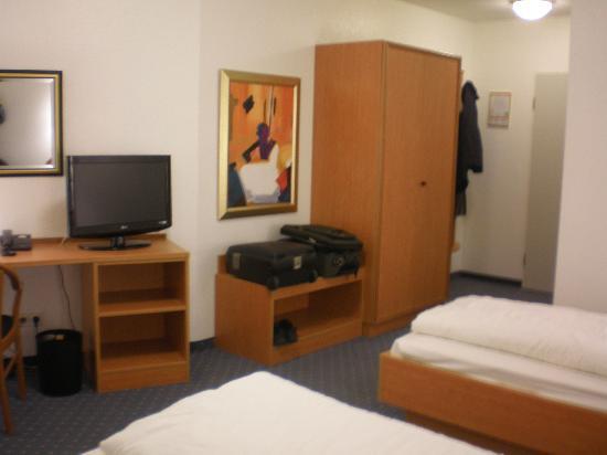 Ludwig Van Beethoven Hotel: Aspecto do quarto