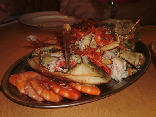 Vilaboa, Spain: Parrillada de marisco