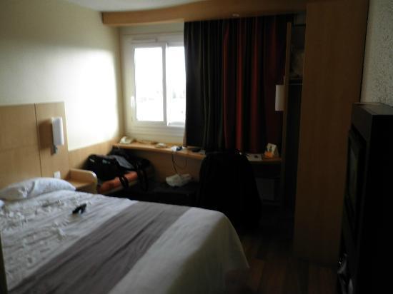 Ibis Dijon Gare : la chambre