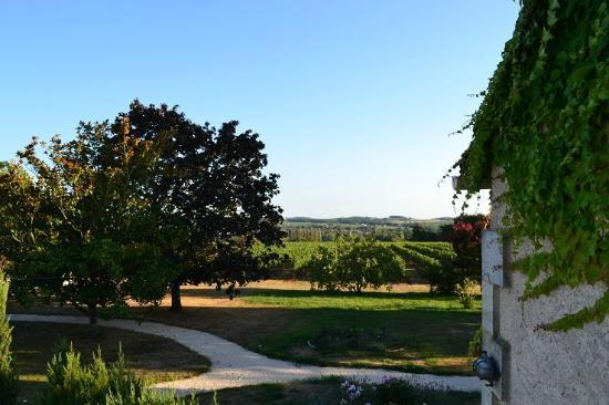 L'Autre Vie: A blend of boutique hotel & B&B charm, surrounded by Bordeaux's vineyards: View from the New York room