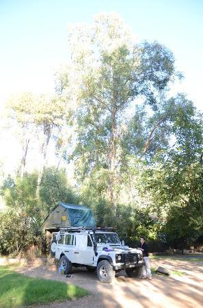 Complexe Touristique Diamant Vert: Campingareal