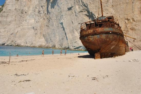 Picture Of Navagio Beach (Shipwreck