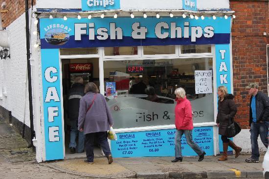 Lifeboat Fishbar: Lifeboat fish bar and cafe