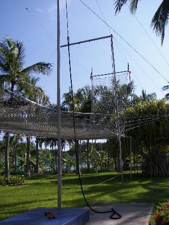 Club Med Ixtapa Pacific: Trapèze
