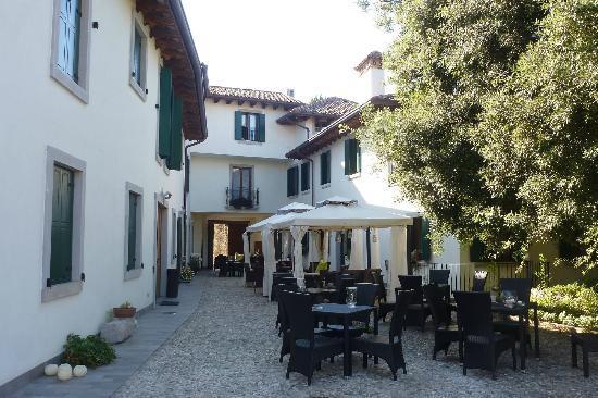 Casa Orter: Innenhof