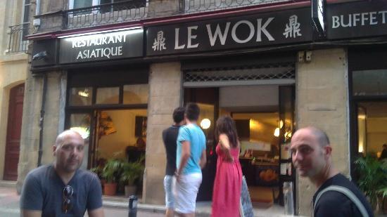 le wok bordeaux 17 rue saint remi restaurant avis photos tripadvisor. Black Bedroom Furniture Sets. Home Design Ideas