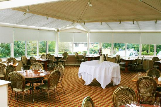 Himley Country Hotel: SAME dining ROOM befor wedding reception