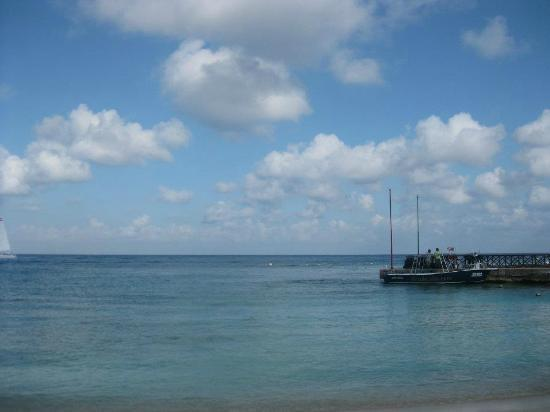 Presidente Inter-Continental Cozumel Resort & Spa: ScubaDu boat and dock