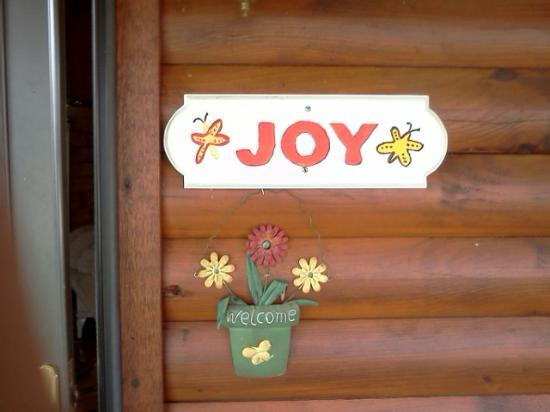 Hope Cabins and Banquet, LLC: Joy Cabin