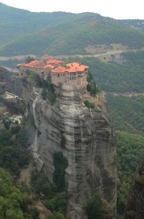 Metéora: meteora monastery