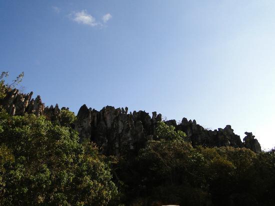 Salitre Grotto: Parte externa