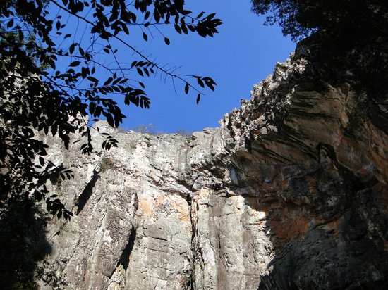 Salitre Grotto: Parte interna