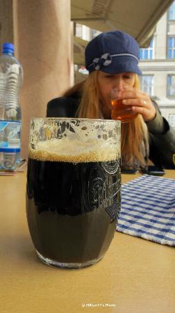 U Vltavy Restaurant: Excelent czech beer