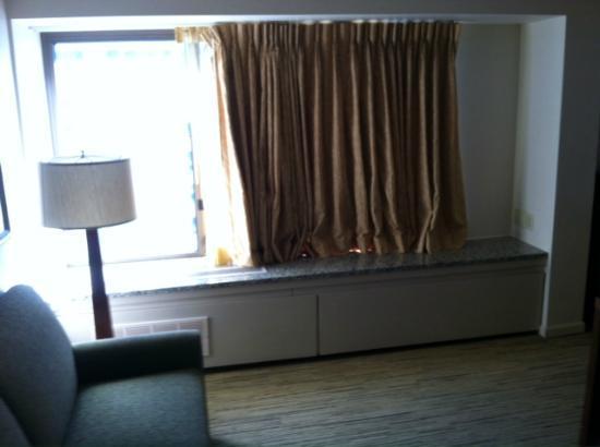 Renaissance Seattle Hotel: Living area