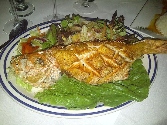 Fried fish picture of guantanamera new york city for Fried fish restaurants