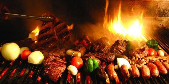 Tango Argentine Grill: Our Parilla grill