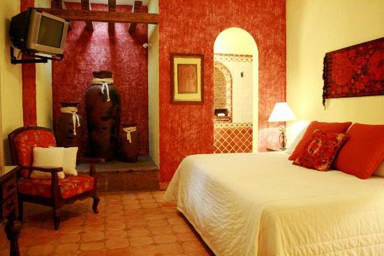 La Villa del Ensueno Hotel: Standard room / habitaciones estandar con cama king