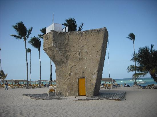 Ocean Blue & Sand: Rock Climbing Anyone!!!!