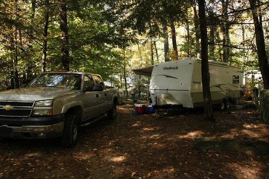 West Swanzey, NH: Camp Site