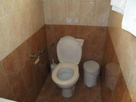 ‪‪Dora Apartments Argirades‬: Basic toilet
