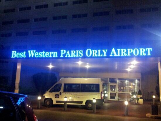 facade picture of best western plus paris orly airport rungis tripadvisor. Black Bedroom Furniture Sets. Home Design Ideas